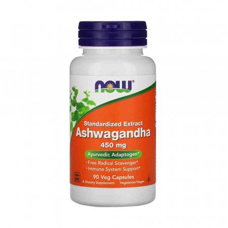 Ashwagandha Extract, 450mg, Now Foods, 90 capsule0