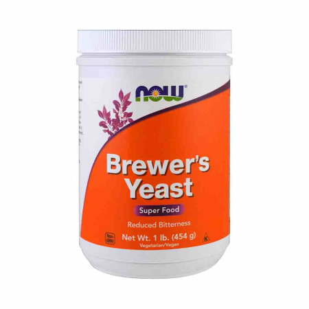 Brewer's Yeast (Drojdie de Bere), Now Foods, 454 grams0