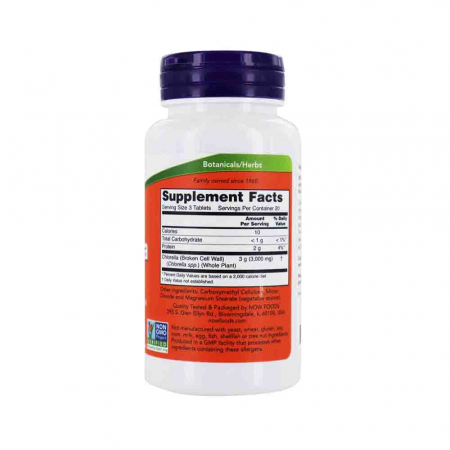 Chlorella 1000mg, Now Foods, 60 tablete2
