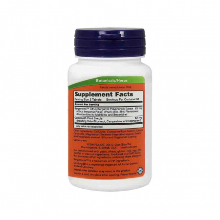 Cholesterol Pro (Reglarea Colesterolului), Now Foods, 60 tablete1