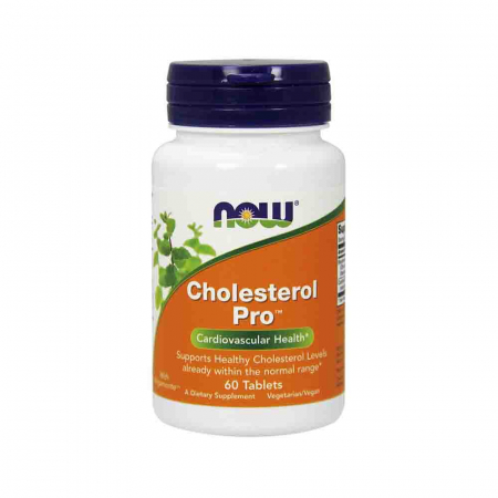 Cholesterol Pro (Reglarea Colesterolului), Now Foods, 60 tablete0