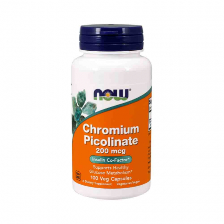 Chromium Picolinate, Crom Picolinat, 200mg, Now Foods0