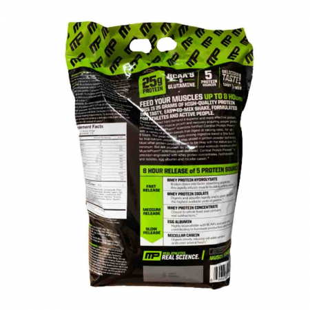 Combat Powder Protein, MusclePharm, 4500g1
