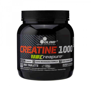 Creatina Creapure® 1000, Olimp Nutrition, 300 tablete