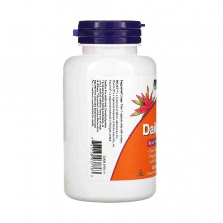 Multivitamine Daily Vits, Now Foods, 120 capsule3