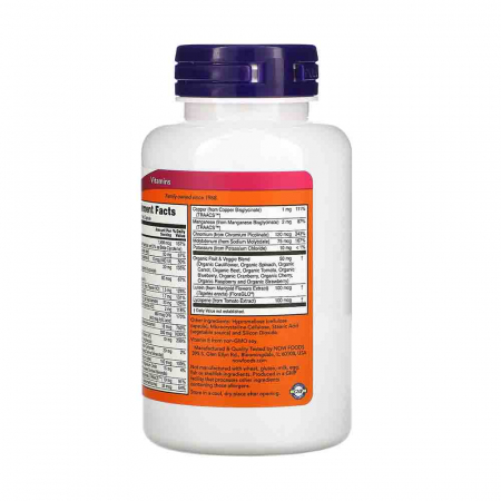 Multivitamine Daily Vits, Now Foods, 120 capsule2