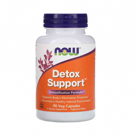 Detox Support (Detoxifiere), Now Foods, 90 capsule0