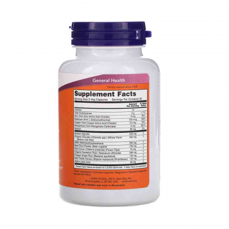 Detox Support (Detoxifiere), Now Foods, 90 capsule2