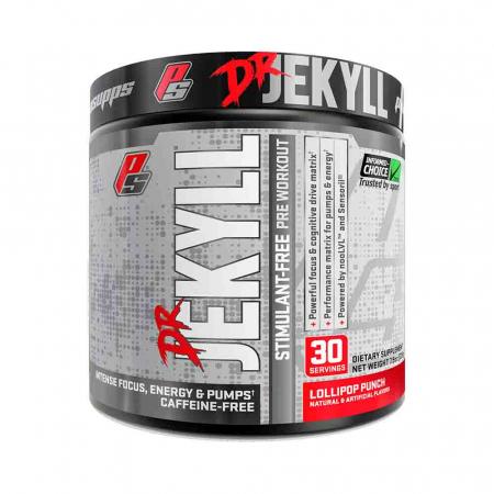 Dr. Jekyll Pre-Workout fara cafeina, ProSupps, 255g0