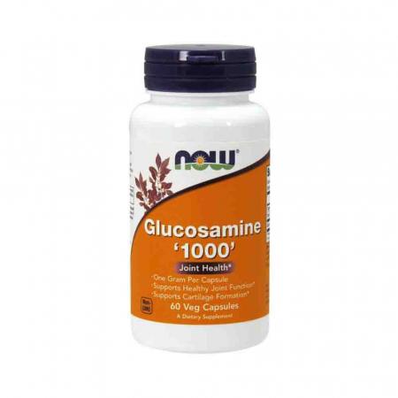 Glucosamine (Glucozamina) 1000mg, Now Foods, 60 capsule0