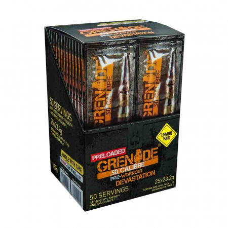 Grenade 50 Calibre Preloaded Sticks, Grenade, 25x23.2g0