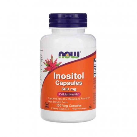 Inositol 500mg, Now Foods, 100 capsule0