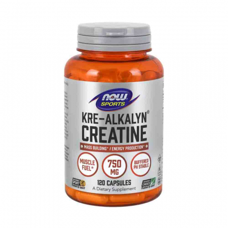 Kre-Alkalyn Creatine, Now Foods, 120 capsule0