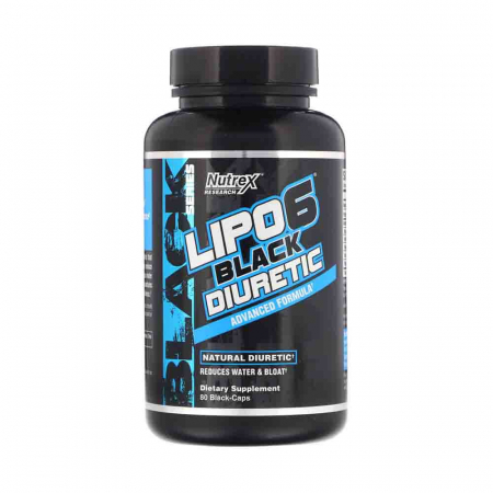 Lipo 6 Black Diuretic, Nutrex Research, 80 Caps USA2