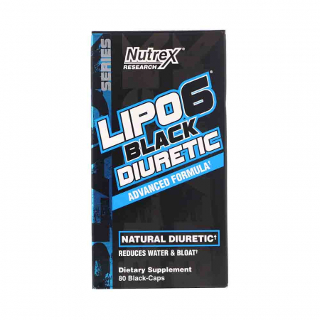 Lipo 6 Black Diuretic, Nutrex Research, 80 Caps USA0