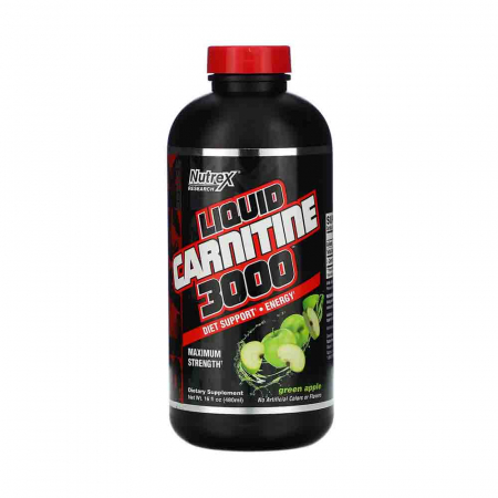 Liquid Carnitine 3000, Nutrex Research, 480ml USA0