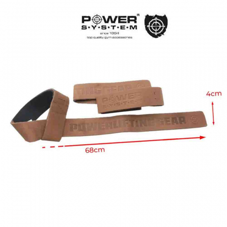 Chingi din Piele LIFTING LEATHER STRAPS, Power System, Cod: 33201
