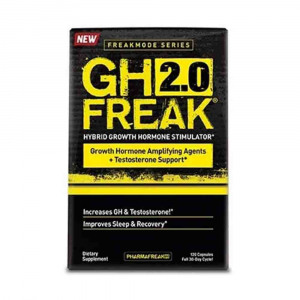 GH Freak 2.0, Hormon de crestere, Pharmafreak, 120 capsule0