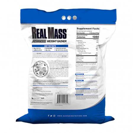 Real Mass Advanced, Gaspari Nutrition, 5400g1