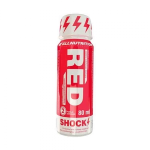Red Shock Shot Pre-workout, All Nutrition, 12x80ml1