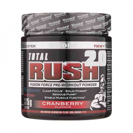 Total Rush 2.0 Pre-Workout, Weider, 375g0
