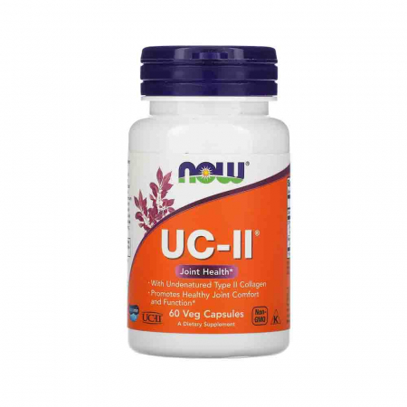 Collagen Type II,  UC-II Undenatured, Now Foods, 60 capsule