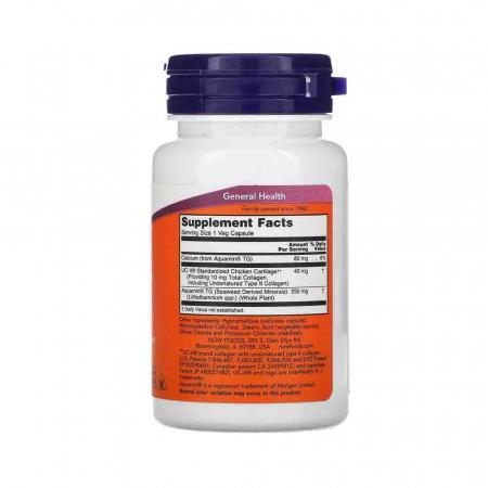 Collagen Type II,  UC-II Undenatured, Now Foods, 60 capsule2