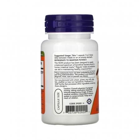 Acidophilus 4x6 (Probiotice), Now Foods, 60 capsule1