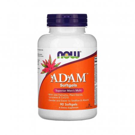 Adam (Multivitamine barbati), Superior Men's Multi, Now Foods0
