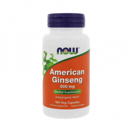 American Ginseng, 500mg , Now Foods, 100 capsule0