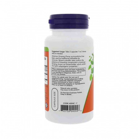 American Ginseng, 500mg , Now Foods, 100 capsule1