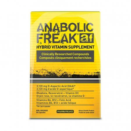 Anabolic Freak AF, Pharmafreak, 96 capsule4