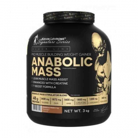 Anabolic Mass Gainer, Kevin Levrone, 3000g