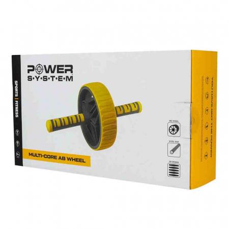 Roata pentru Abdomen MULTI CORE AB WHEEL, Power System, Cod: 40343