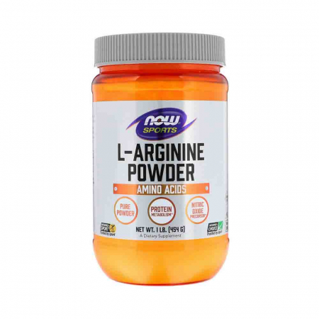 L-Arginine Powder, Now Foods, 454g0