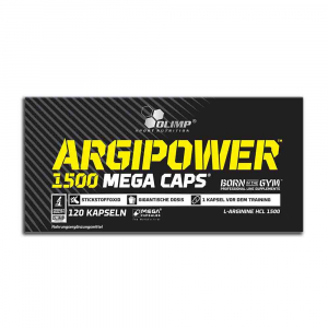 ArgiPower 1500 Mega Caps, Olimp Nutrition, 120 capsule0