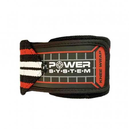Bandaje pentru genunchi Knee Wraps, Power System, Cod: 37003