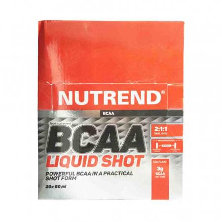 BCAAMega Shot, Nutrend, 20x60ml3
