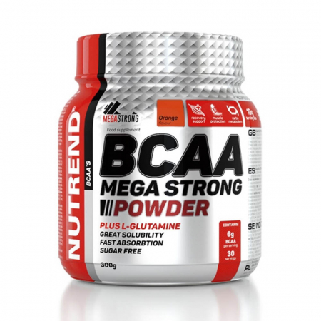BCAA Mega Strong Powder, Nutrend, 300g
