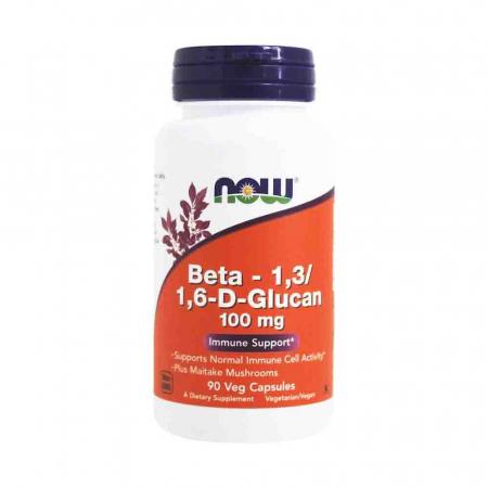 Beta 1,3/1,6 D-Glucan, 100 mg, Now Foods, 90 capsule0