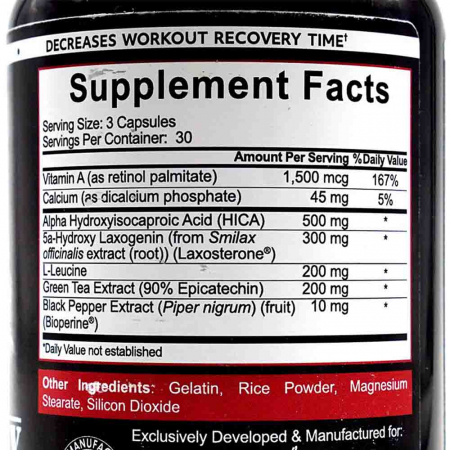 Bigger By The Day, Rich Piana, 5% Nutrition, 90 capsule1