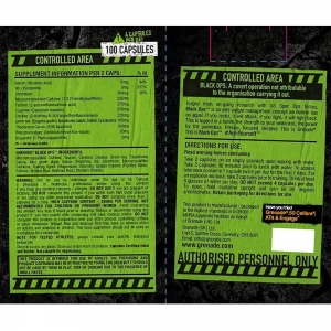 Grenade Black Ops, Grenade, 100 capsule2