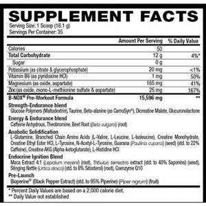 B-NOX Androrush, Betancourt Nutrition, 633g4