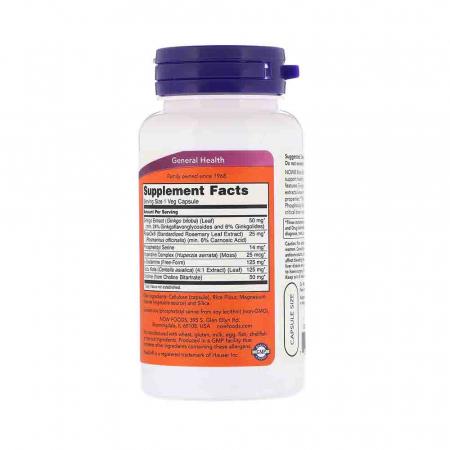 Brain Elevate, Now Foods, 60 capsule2