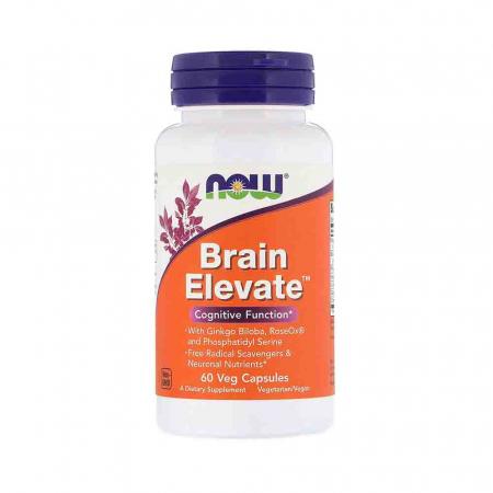 Brain Elevate, Now Foods, 60 capsule0