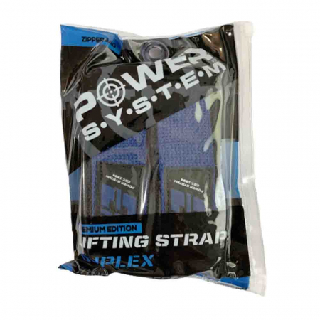 Chingi pentru bara Lifting Straps Duplex, Power System, Cod: 34017