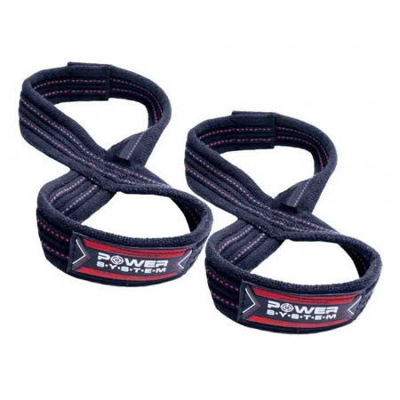 Chingi Powerlifting LIFTING STRAPS FIGURE 8, Power System Cod: 34050