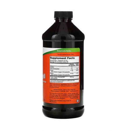 Chlorophyll Liquid (Clorofila), Now Foods, 473 ml2