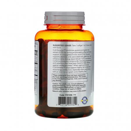 CLA Extreme (Acid Linoleic Conjugat), Now Foods, 90 softgels1