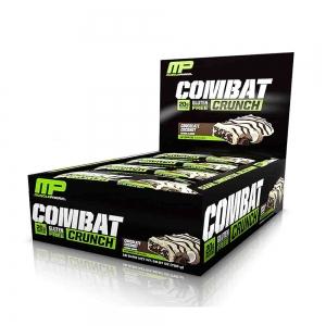 Combat Crunch Bar, MusclePharm, 12x63g0